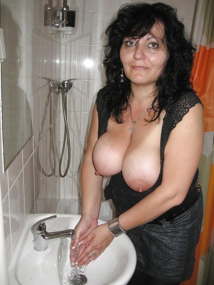 Big tit mature threesome-6726