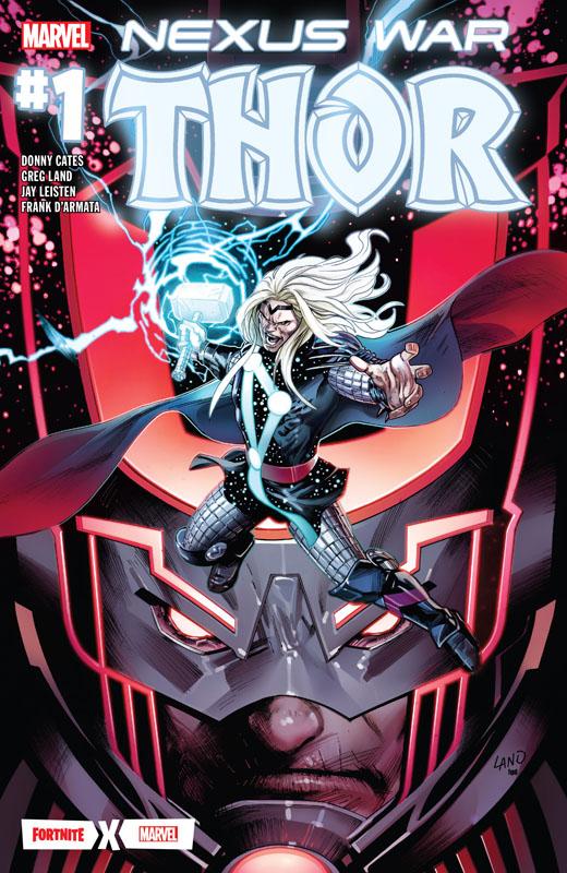 Fortnite x Marvel - Nexus War - Thor 001 (2020)