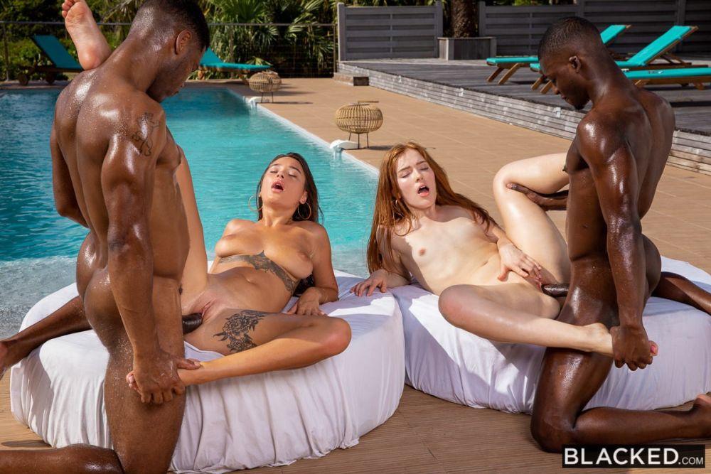 Jia Lissa, Liya Silver, Darrell Deeps, Jack Rippher – Together – Blacked