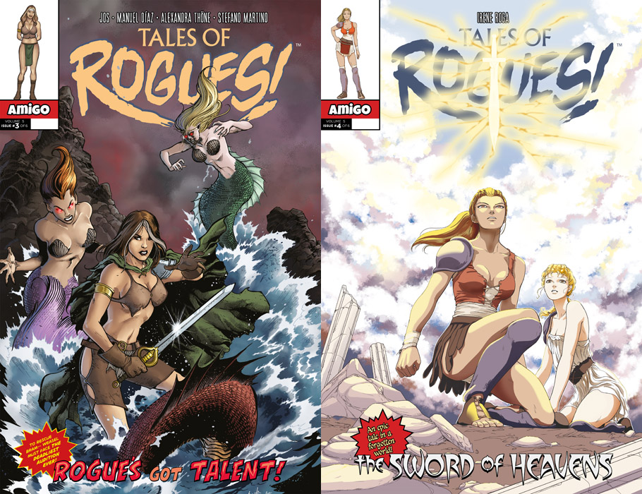 Tales of Rogues! Volume 05 #1-6 (2018) Complete