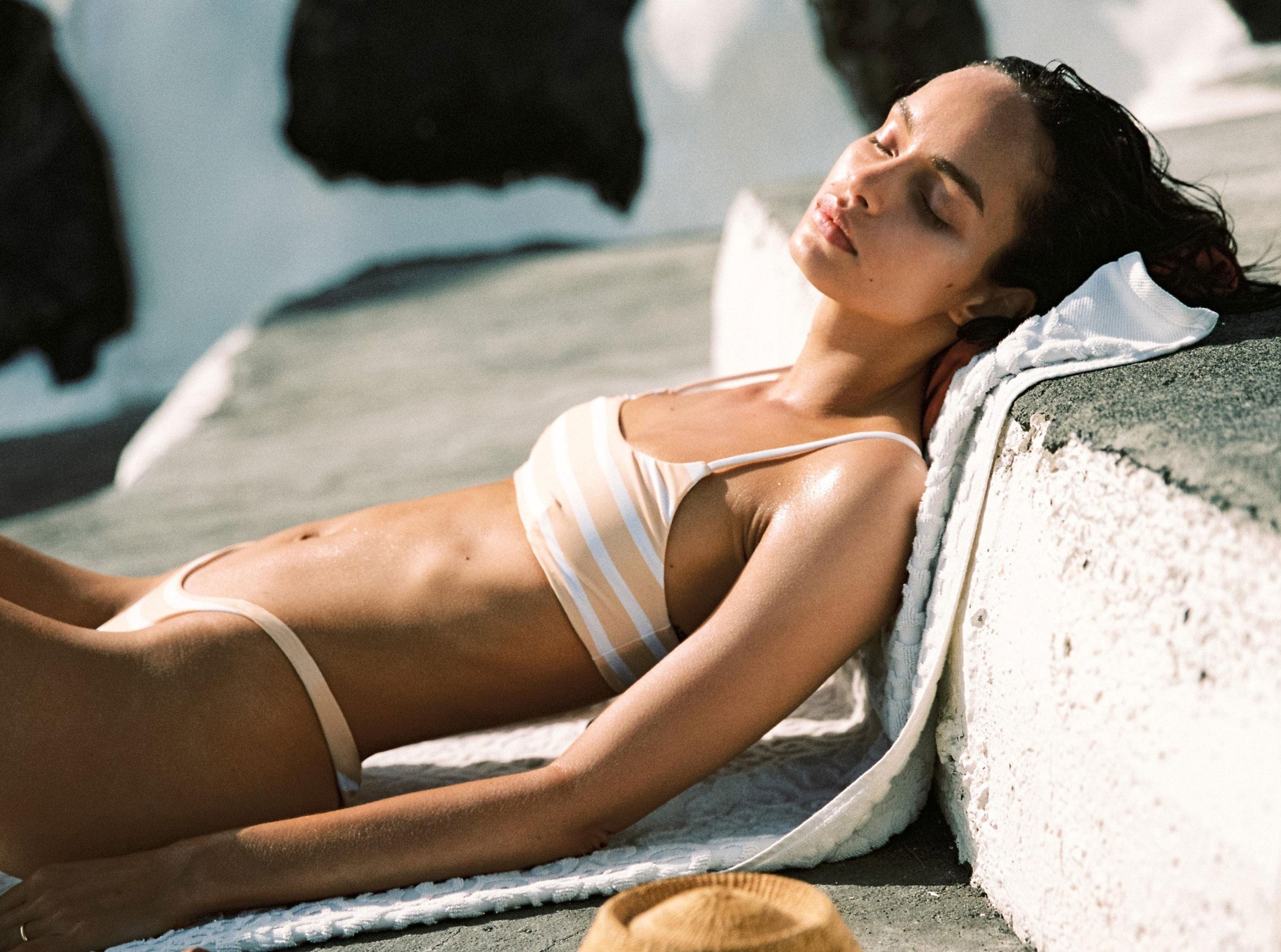 Коллекция купальников и пляжной одежды Faithfull the Brand, лето 2019 / фото 35