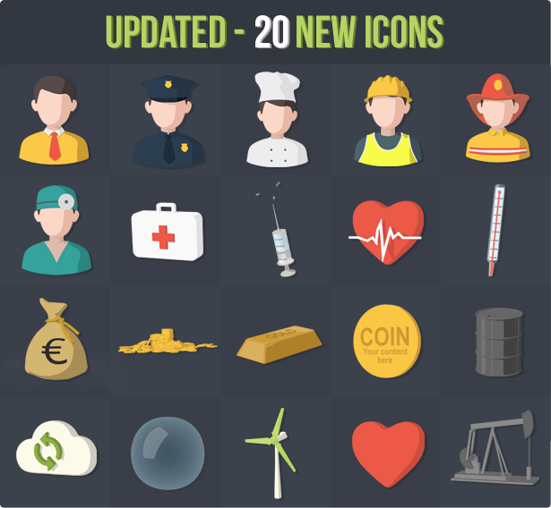 100 Animated 3D Icons for Explainer Video - 2