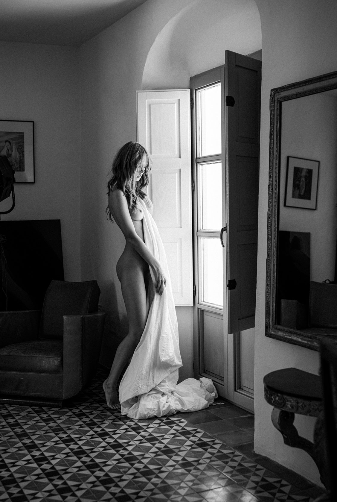 Отдыхаем на юге Испании с сексуальной Анастасией Щегловой / фото 10