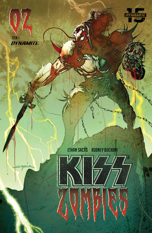 KISS - Zombies #1-4 (2019-2020)