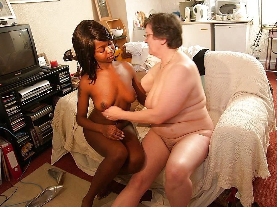 Old white guy young black girl-9013