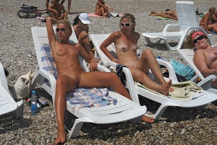 Nude beach bukake-1176
