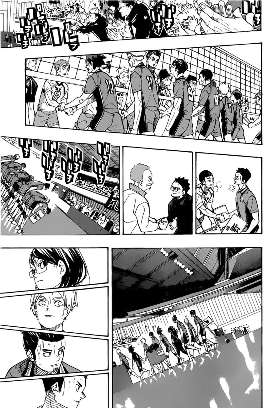 อ่านการ์ตูน Haikyuu!! ตอนที่ 368 หน้าที่ 6