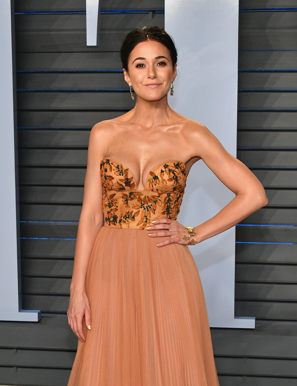 Emmanuelle Chriqui – 2018 Vanity Fair Oscar Party in Beverly Hills – 3/4/18