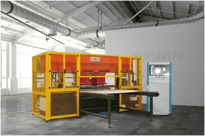 Kuntai Machinery Supplies World-Class 100 Ton Sealing and Heating Cutting Machines To Various Manufacturing Industries For Effective Product Production And Faster Processing