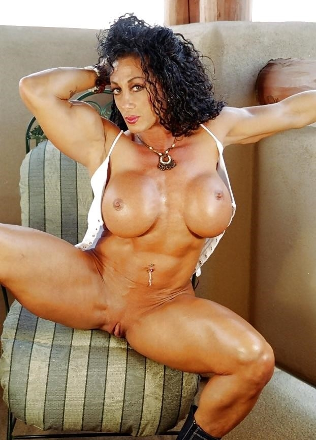 Female bodybuilders with huge clits-4385