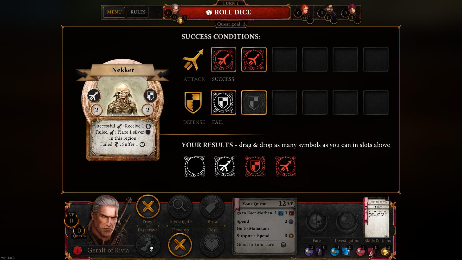 The Witcher Adventure Game Captura 2