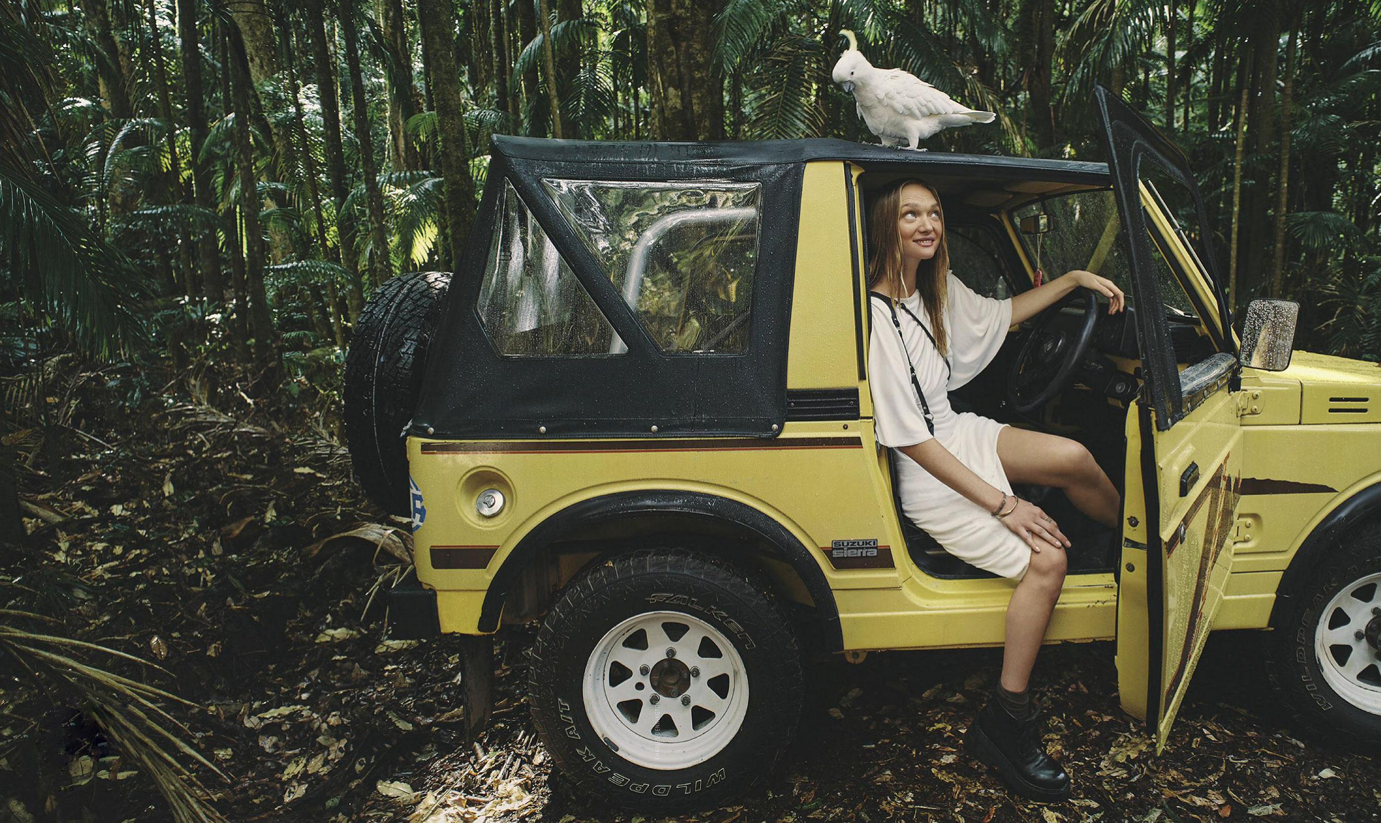 Джемма Уорд с семьей путешествует по лесам Нового Южного Уэльса / фото 02