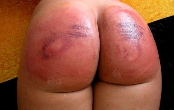 Brutal spanking anal-9344