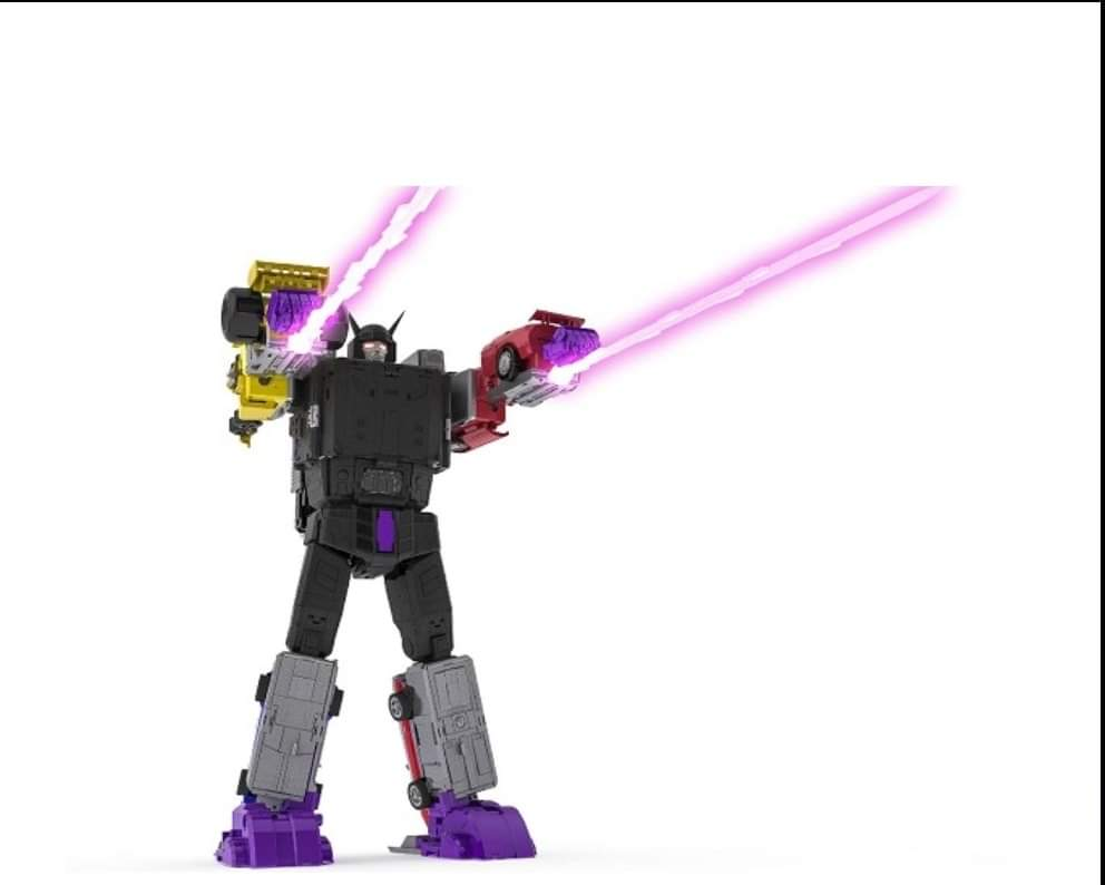 [X-Transbots] Produit Tiers - Jouets Berserkars forme Monolith (MX-XIII à MX-VII) - aka Stunticons forme Menasor/Menaseur - Page 7 8NJmyroM_o