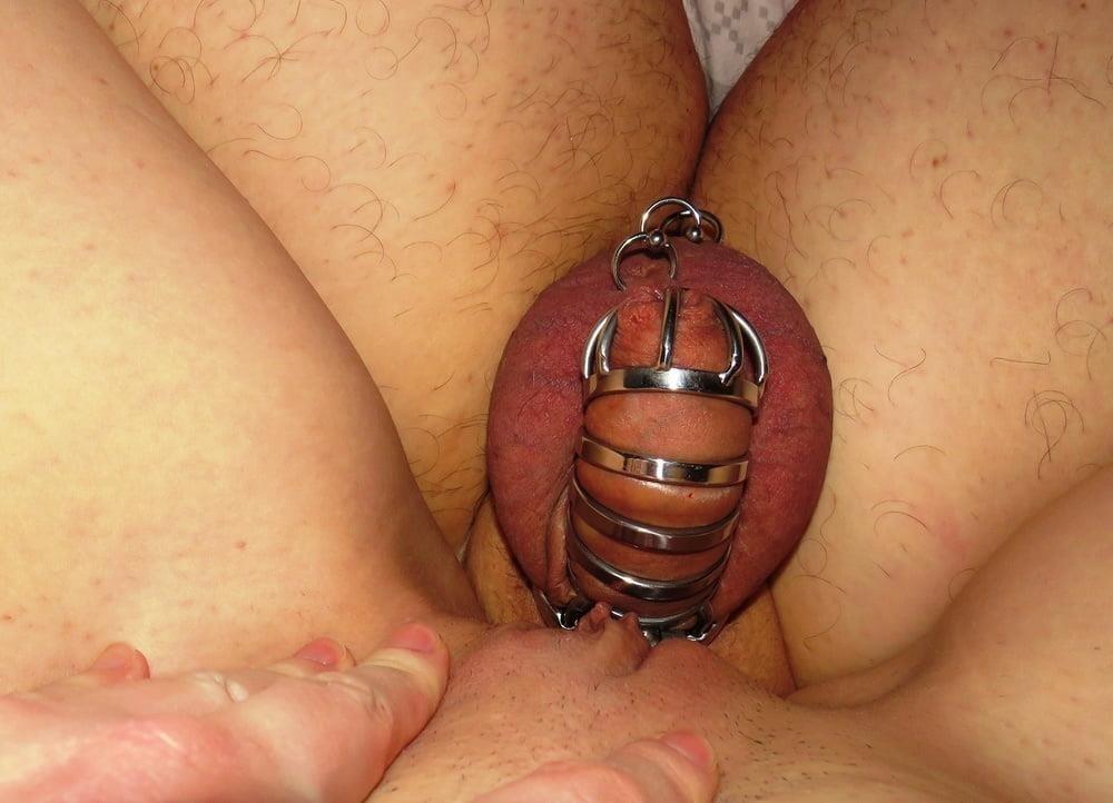 Femdom chastity cunnilingus-2890