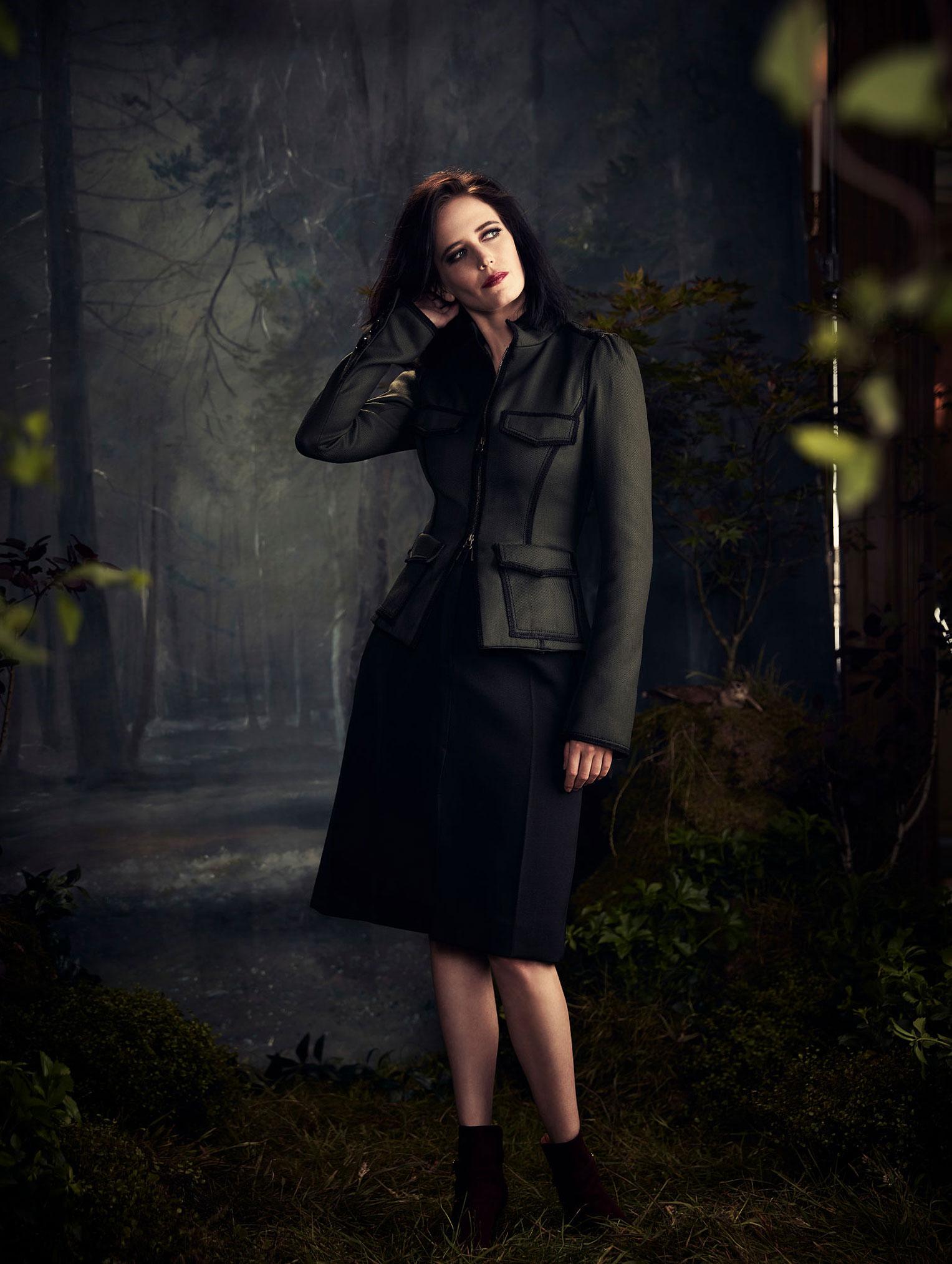 промосъемка Евы Грин для киностудии 20th Century Fox / фото 13