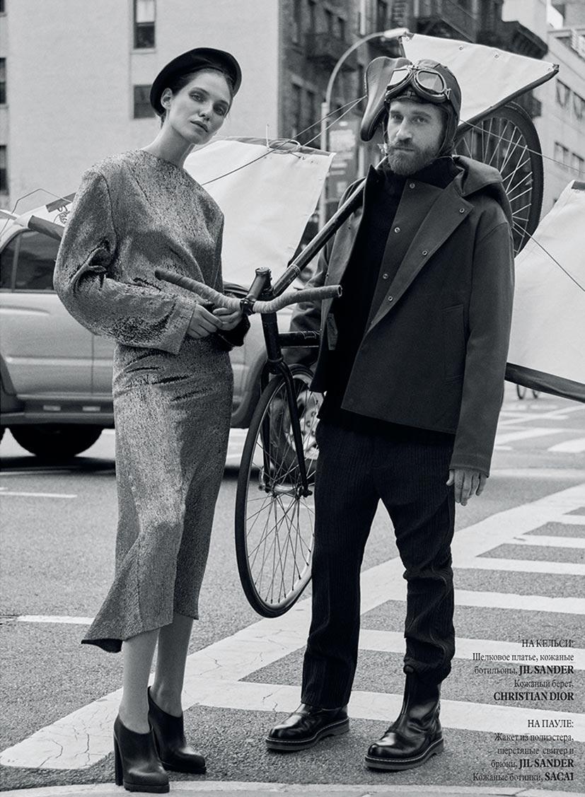 Kelsey Van Mook and Paul Zivkovich by Evgeny Popov