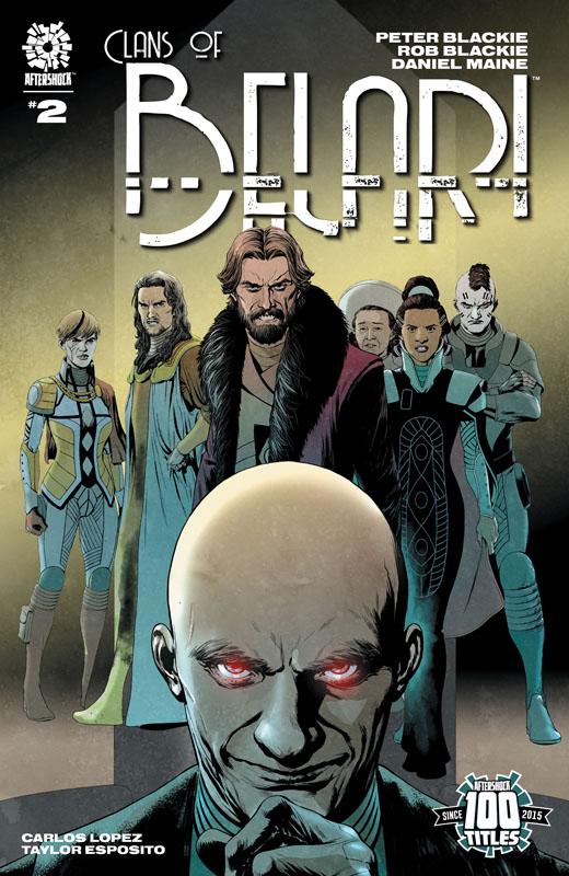 Clans of Belari #1-4 (2021)