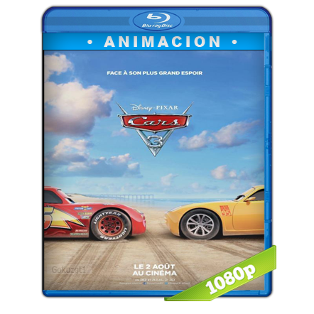 Cars 3 (2017) BRRip Full 1080p Audio Trial Latino-Castellano-Ingles 5.1