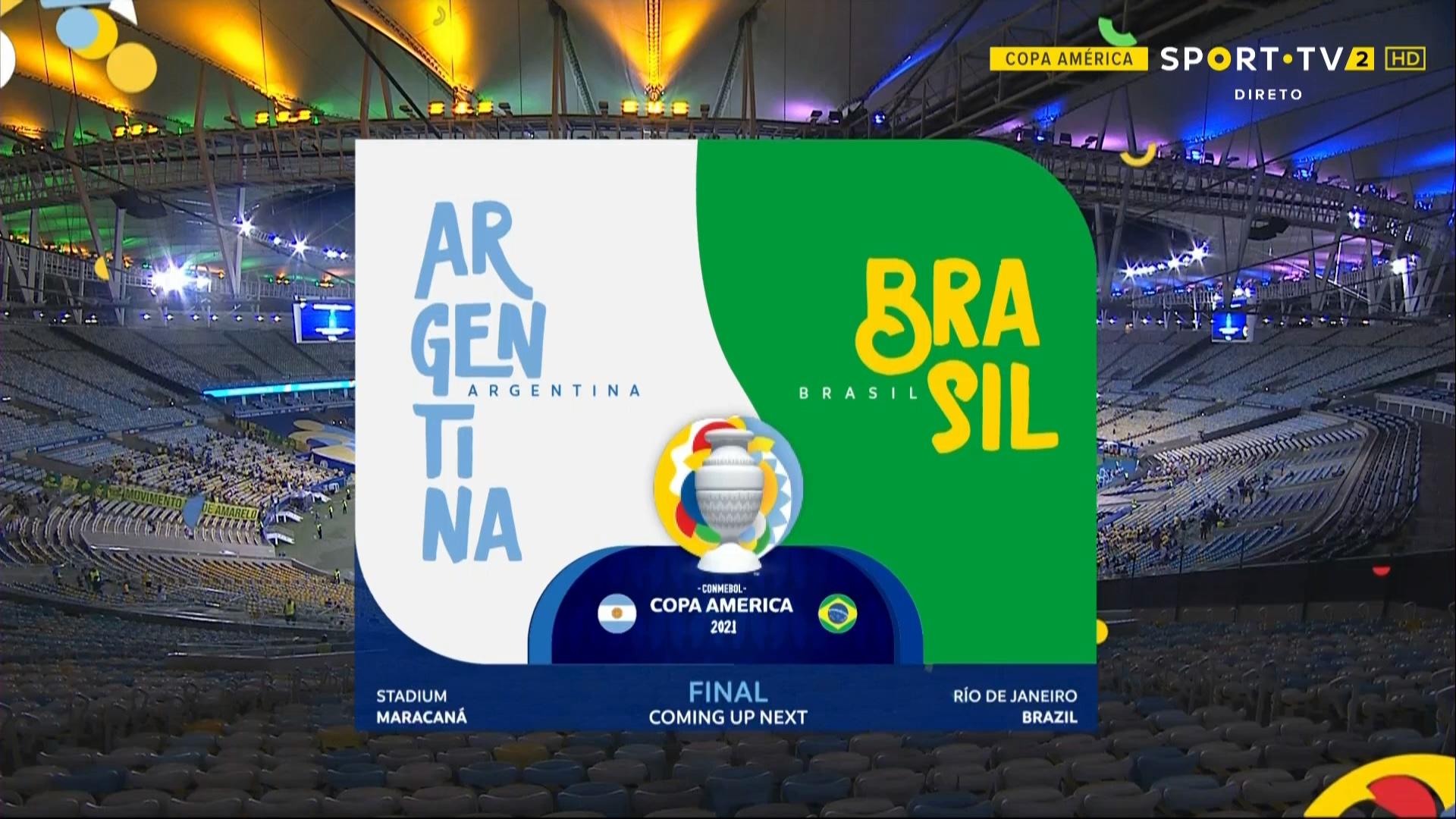 Full match: Argentina vs Brazil