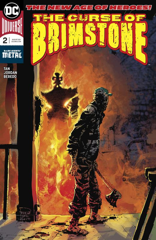 The Curse of Brimstone #1-4 (2018)