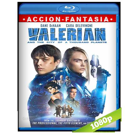 Valerian Y La Ciudad De Los Mil Planetas Full HD1080p Audio Trial Latino-Castellano-Ingles 5.1 (2017)