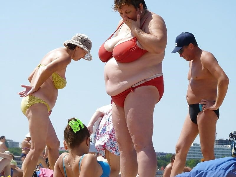 Nude big boobs on beach-9920