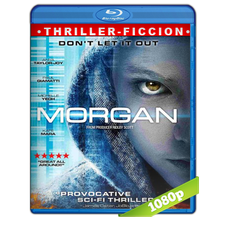 descargar Morgan [BDRip m1080p][Trial Lat/Cast/Ing][VS][Ficcion](2016) gratis