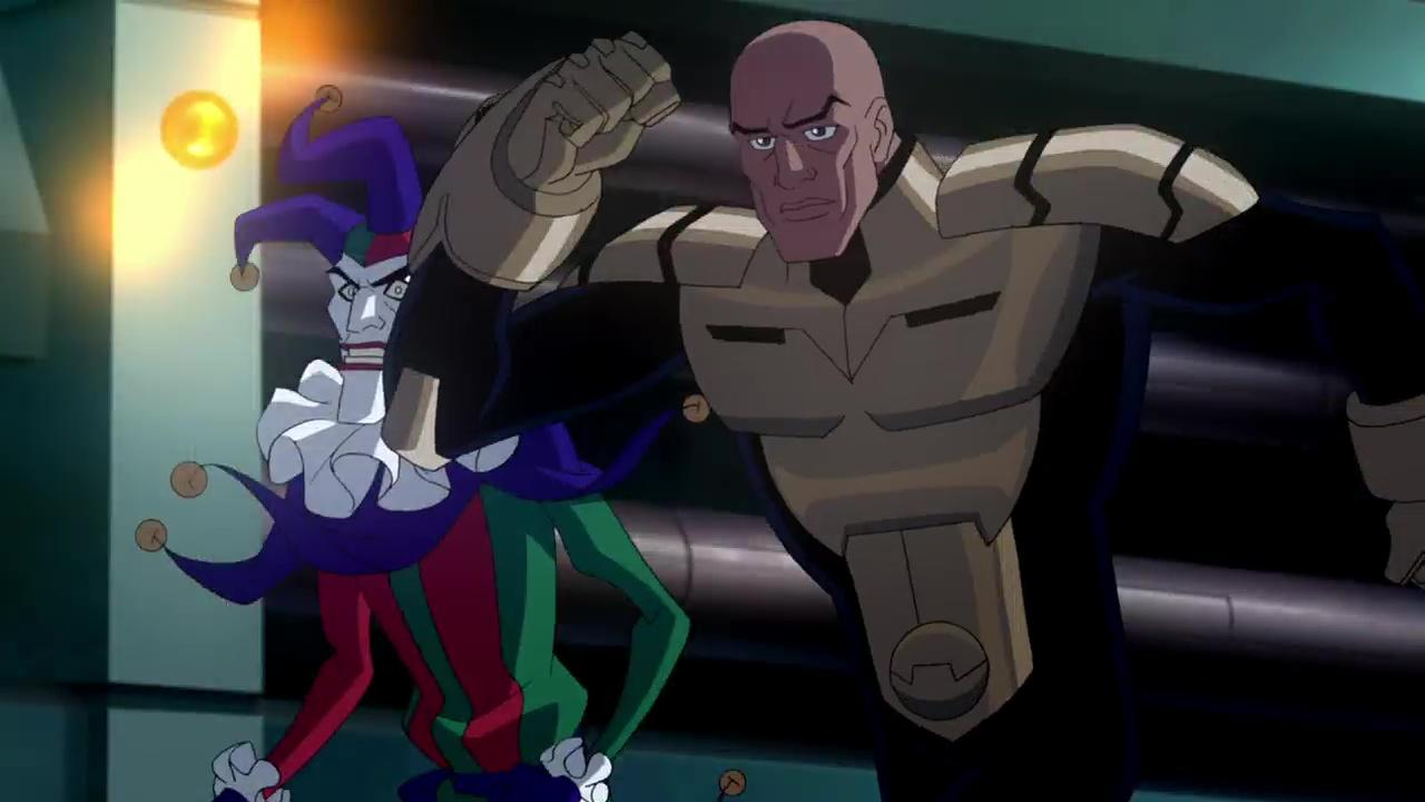Liga De La Justicia Crisis En Dos Tierras 720p Lat-Cast-Ing[Animacion](2010)