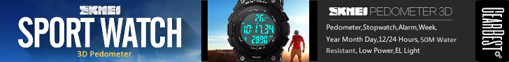 Gearbest $7.99 for Skmei 1112 3D Pedometer Sports Watch - BLACK promotion