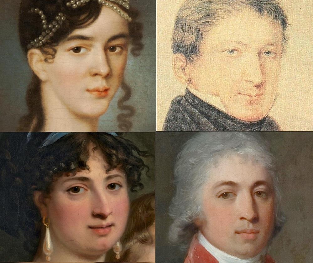 Семья Муравьевых и неизвестная