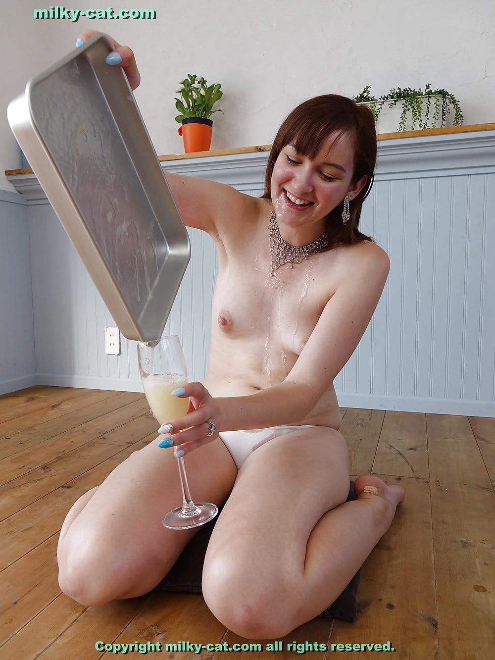 White girl bukkake-1319