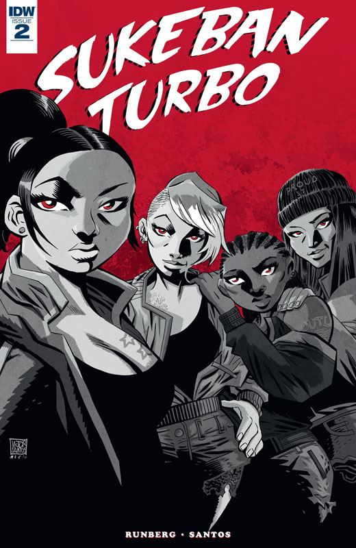 Sukeban Turbo #1-4 (2018-2019) Complete