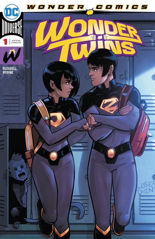 Wonder Twins #1-3 (2019)