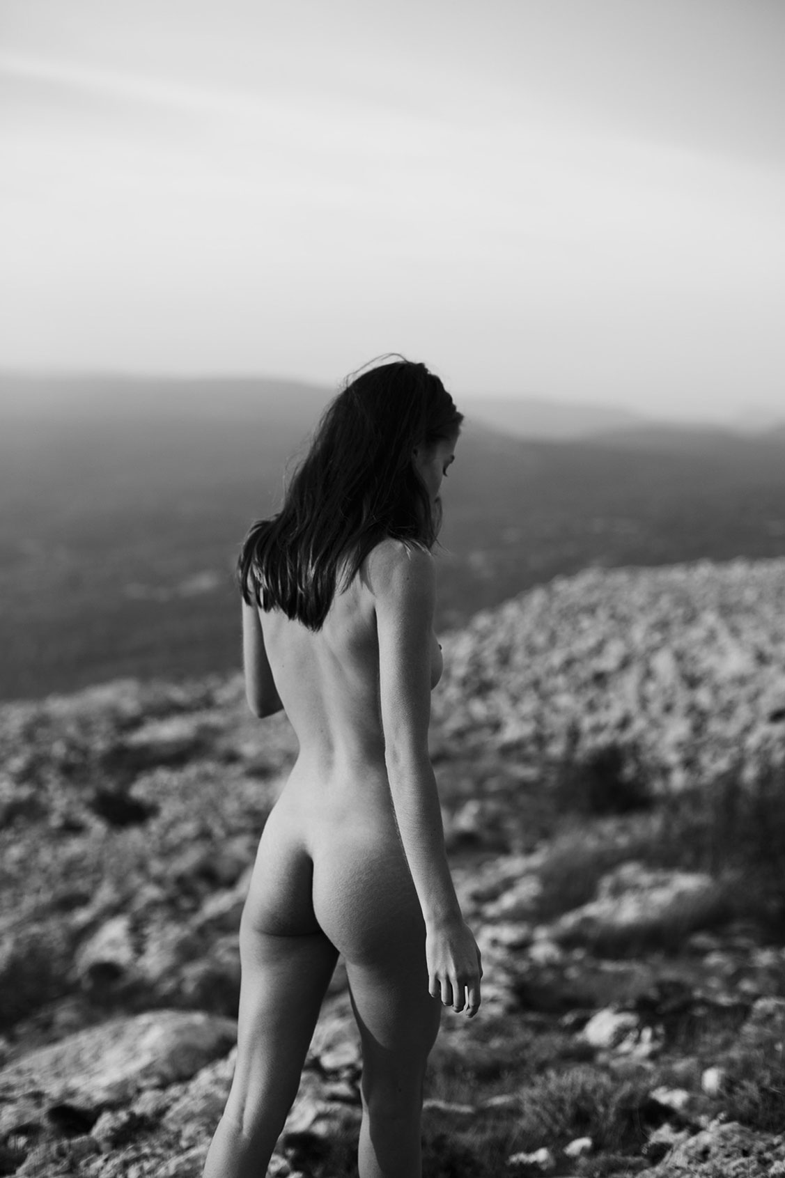 Mountain Top / Rebecca Bagnol by Maxime Besse - Yume Magazine