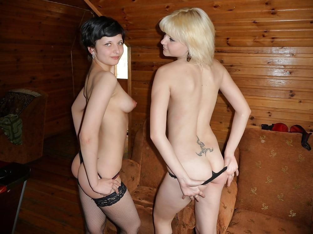 Sexy lesbians naked kissing-3887
