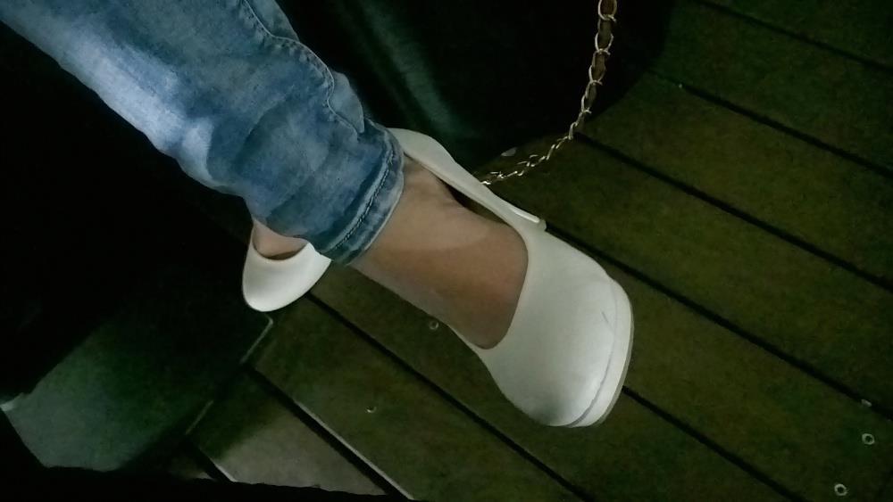 Lesbian foot fetish nylon-6864