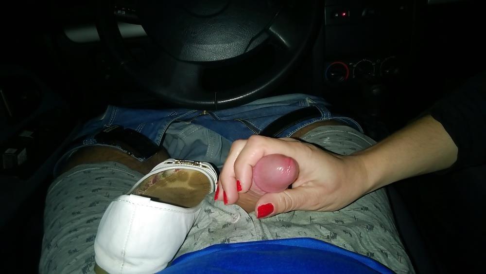 Lesbian foot fetish nylon-3969