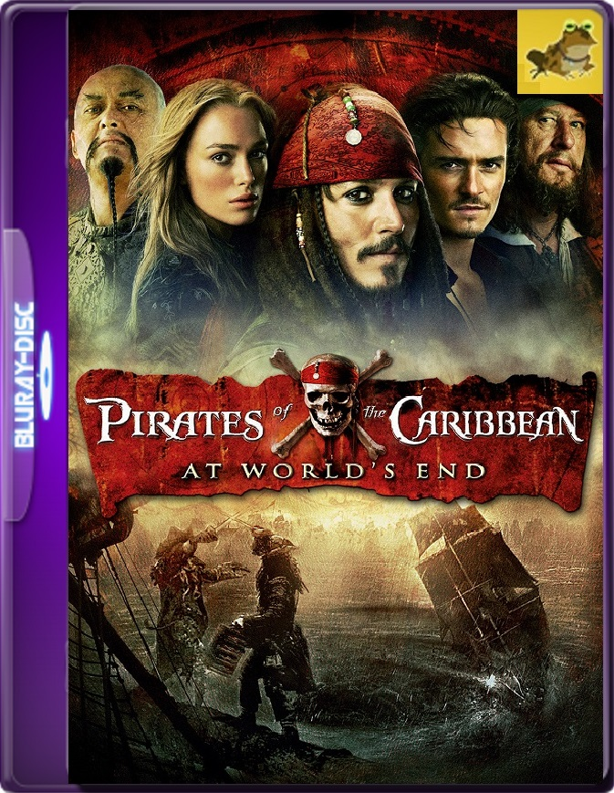 Piratas Del Caribe: En El Fin Del Mundo (2007) Brrip 1080p (60 FPS) Latino / Inglés