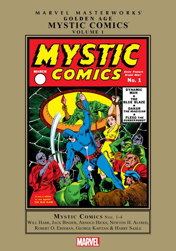 Marvel Masterworks - Golden Age Mystic Comics v01 (2011)