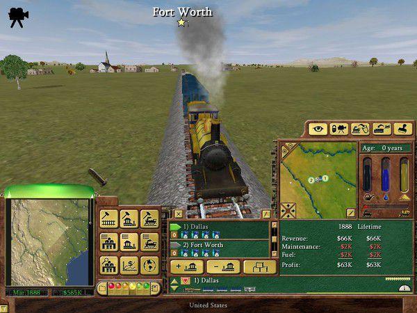 Railroad Tycoon 3 Captura 3