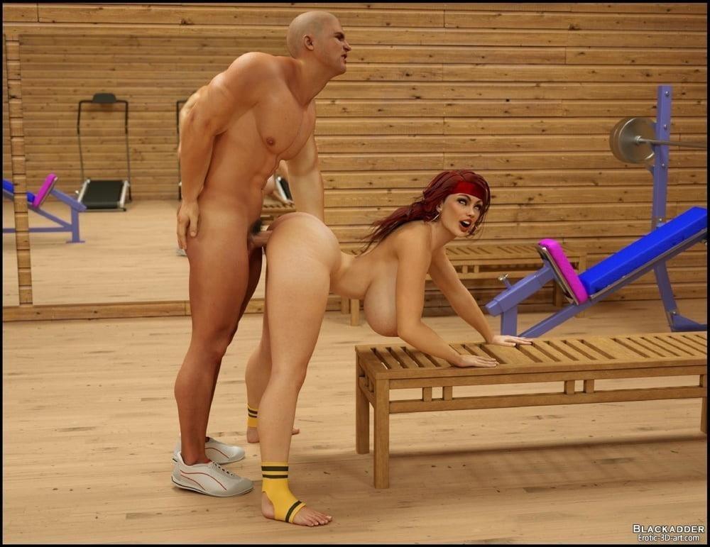 Pornhub in the gym-7781