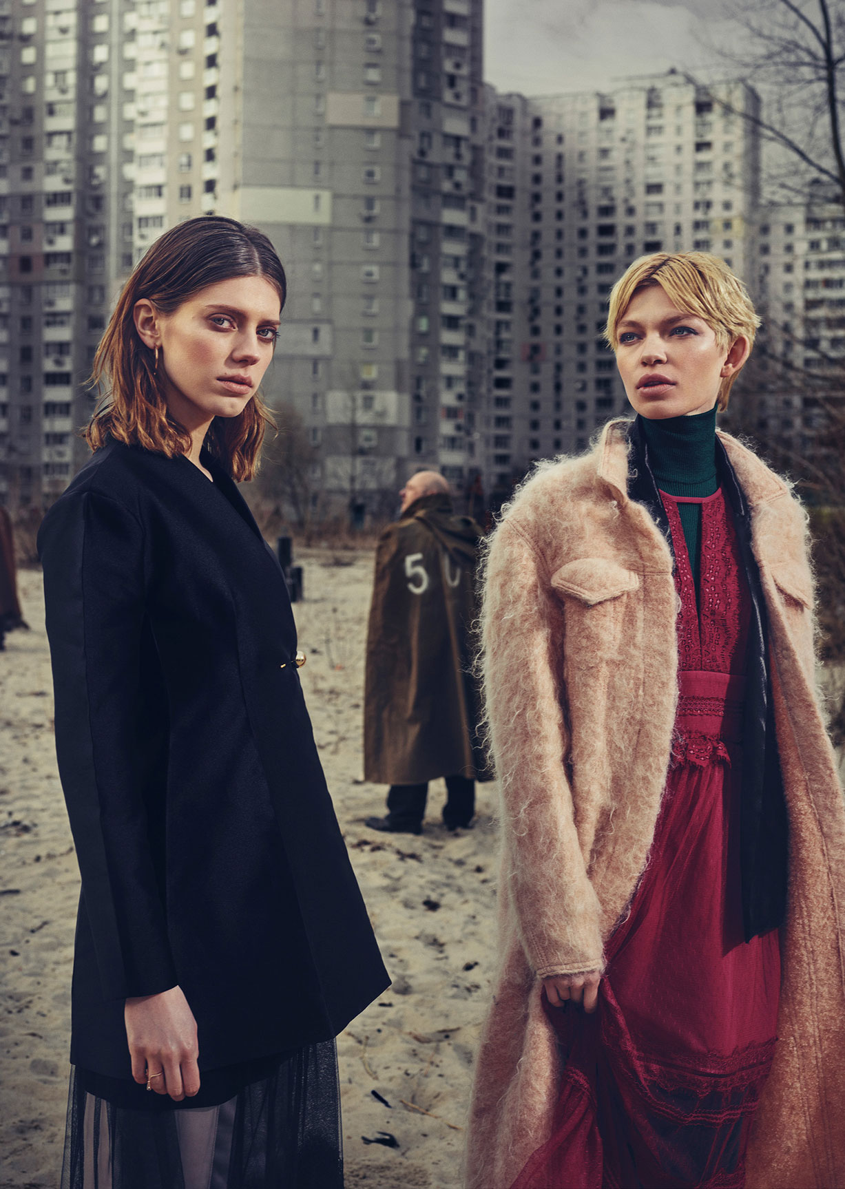 Sasha Popruga and Oxana Zubko by Crowns and Owls / Schon! Magazine