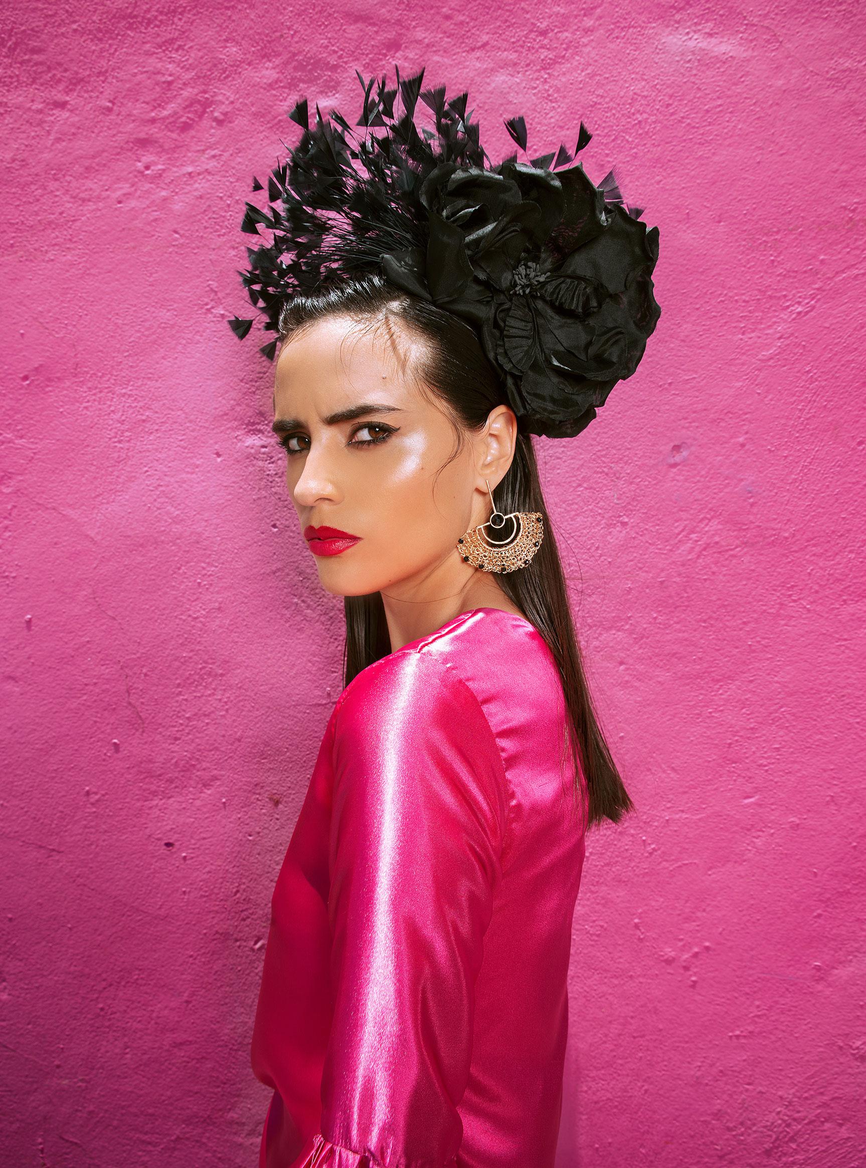 Заира Майари в модном показе на улицах Пуэбла-сити / фото 07