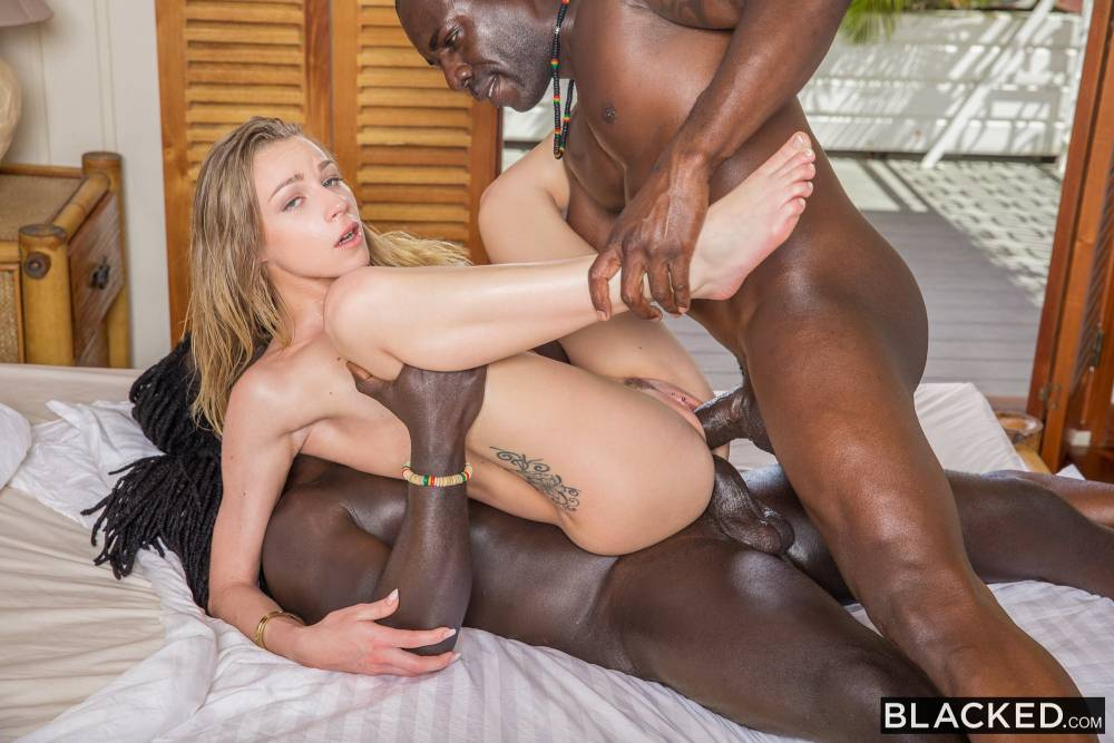 Angel Emily, Joss Lescaf, Freddy Gong – Lost And Found – Blacked [HD]