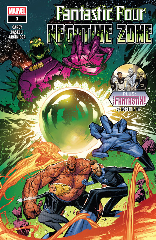 Fantastic Four - Negative Zone 001 (2020)