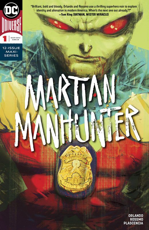 Martian Manhunter #1-4 (2019)