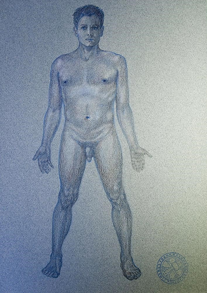 How to draw male nude-9227