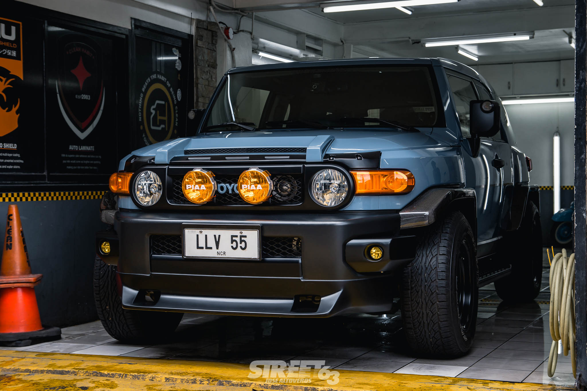 **Imagined then Created:** The Low-Down FJ Cruiser