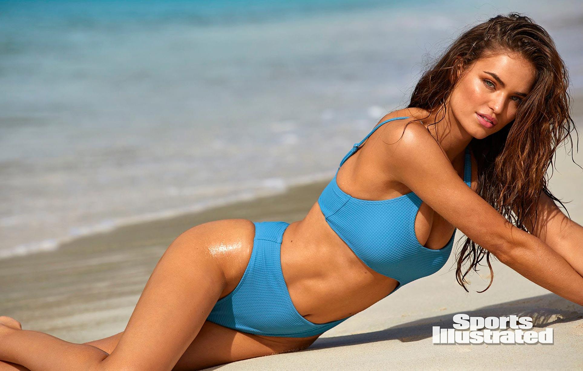 Робин Хольцкен в каталоге купальников Sports Illustrated Swimsuit 2020 / фото 04